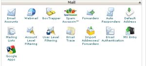 mail cPanel X