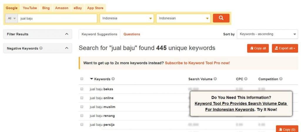 7 Tools Riset Keyword Terbaik & Akurat 5