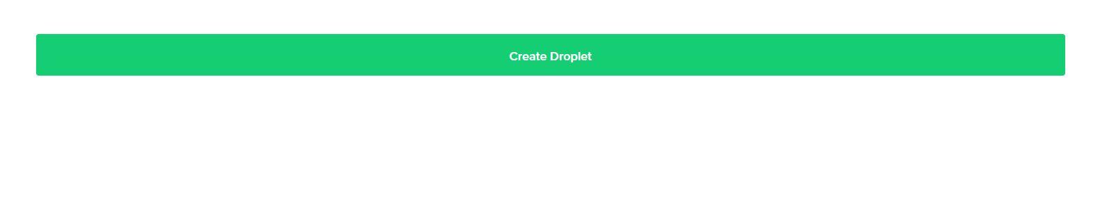 create digital ocean droplet